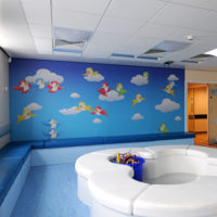 Digital Wall Covering For Hospital Children's Ward