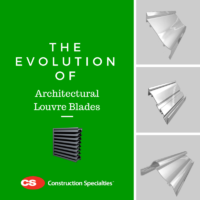 The Evolution of Architectural Louvre Blades