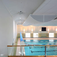 Durable Wall Coating for Carnegie Leisure Centre