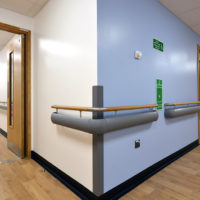 Complete Wall Protection Package for Morriston Hospital