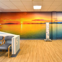 Fresque Acrovyn by Design® pour l'hôpital Royal Bournemouth