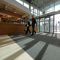 CS Zonal Approach to Entrance Matting at Roadchef Stafford South Services