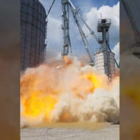 [Video] Dust Explosion at Farm in South Indiana, August 2017