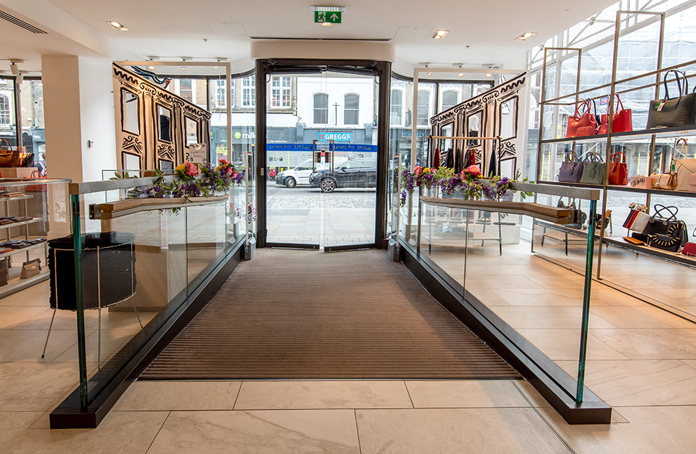 CS Pediluxe Entrance Matting - Fenwick Department Store 02